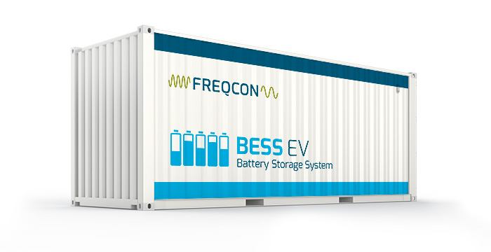 FREQCON-BESS-EV-container